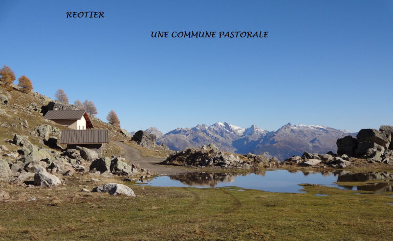 REOTIER : Une commune pastorale