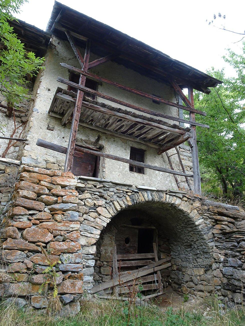 Au Villard la maison de Baptiste Eymard
