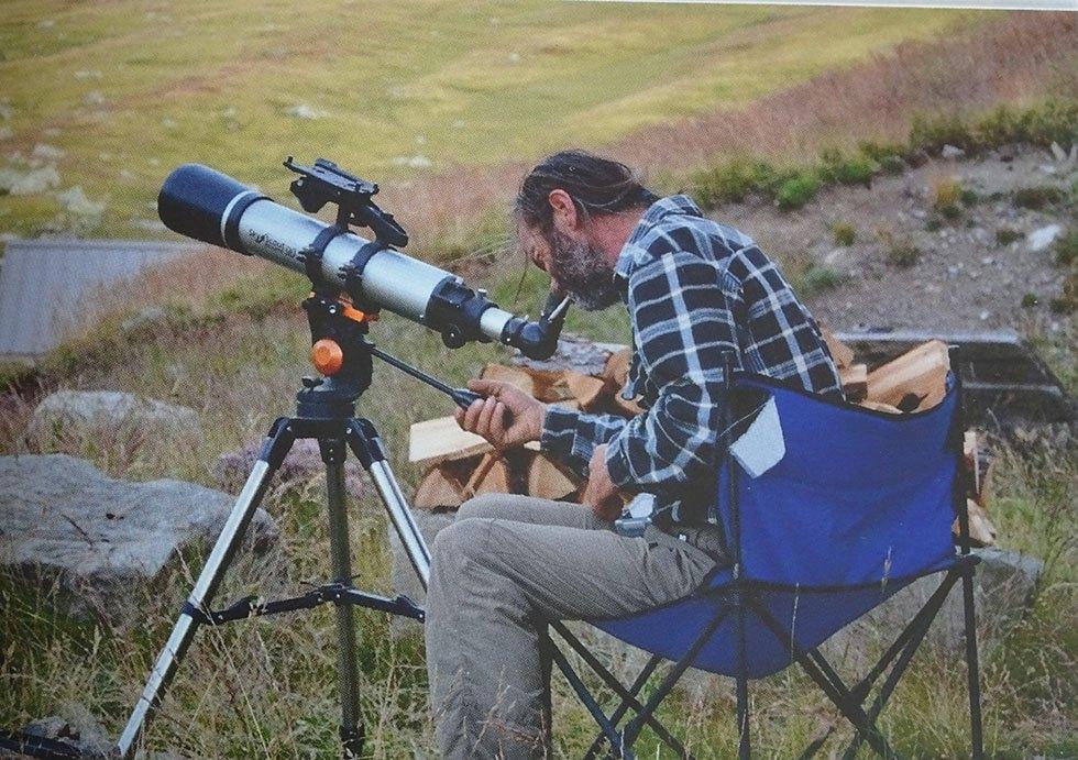 Il sait tellement de choses sur la faune de l'Alp. (Ph.P.Labbé)