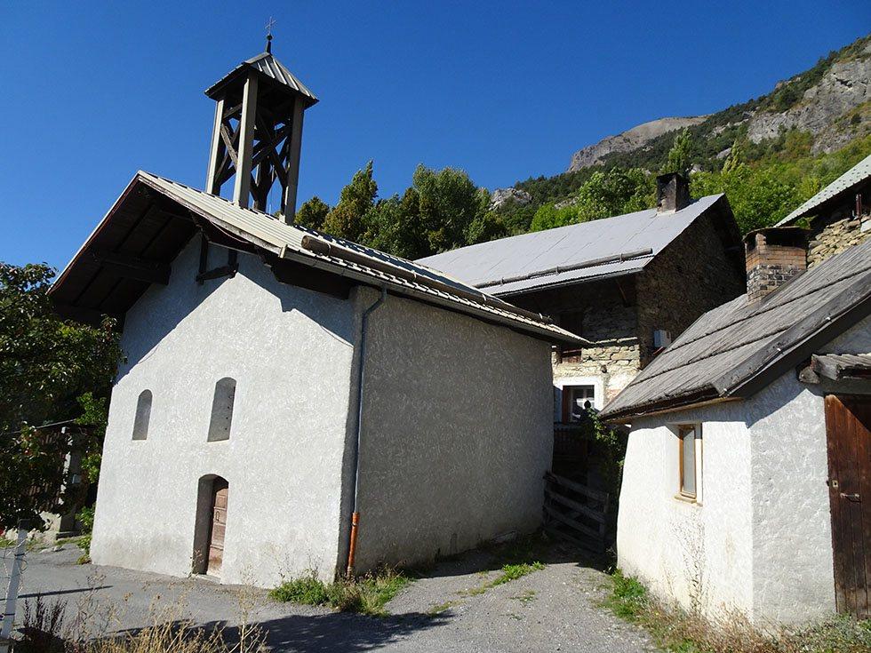 La chapelle des Casses dédiée à ND des Neiges.
