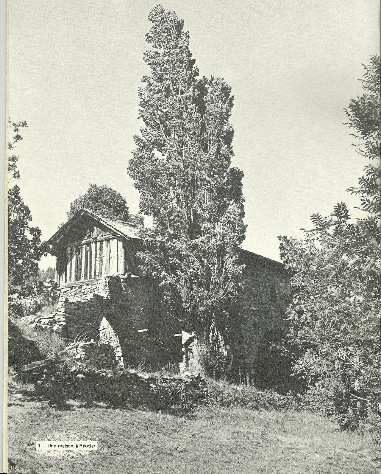La Bourgea, maison Maurel, années 1970