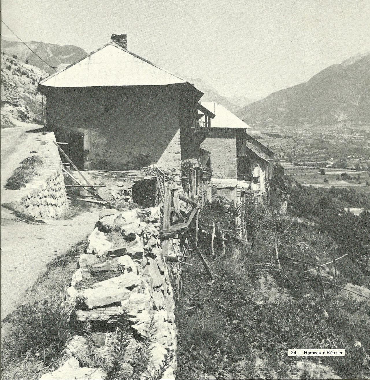 Les Moulinets Bas à l'époque pastorale de Germaine Domény
