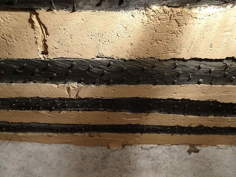 Plafond ancien « isolé »