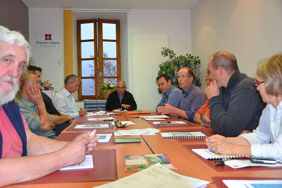 Conseil municipal du 6 avril 2012.