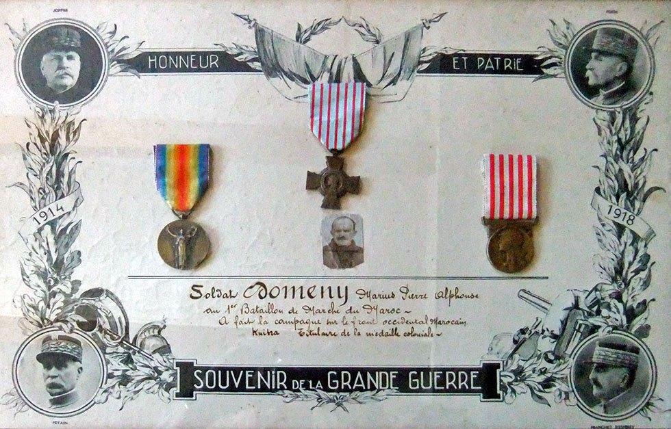 Alphonse Domeny beau père de Nine Domény des Garniers.