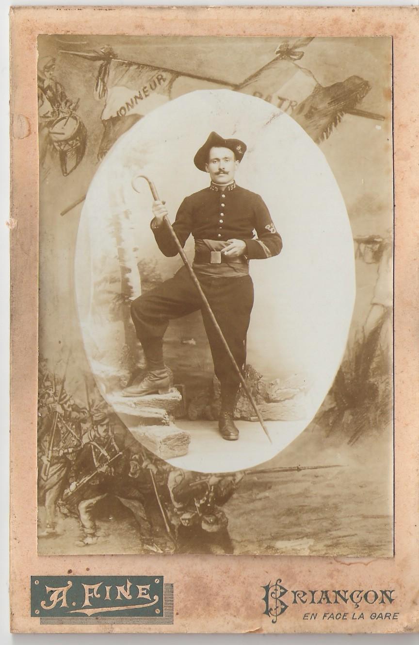 Étienne Izoard beau père de Josette Izoard de la Gagière.