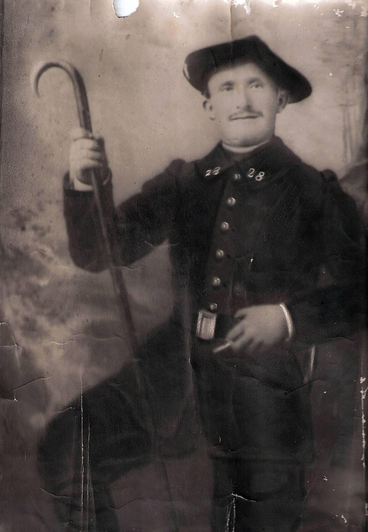 Jean Baptiste Assaud mort pour la France le 15 août 1918.