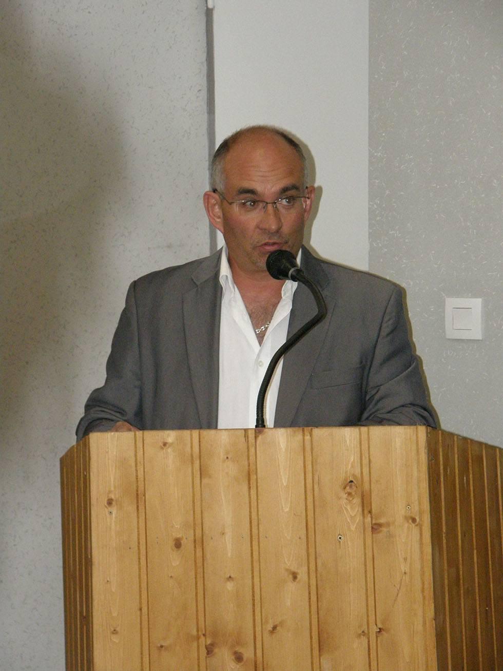 Marcel Cannat le 23 mai 2008 dans sa marie