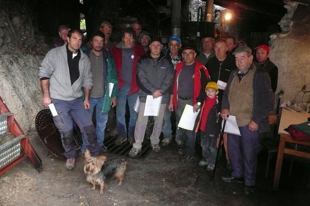 24 octobre 2010 : lancement de la campagne 2010 de distillation.