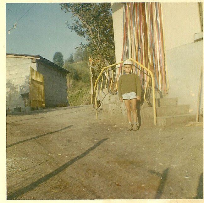 27 août 1967. Marcel aux Mensolles