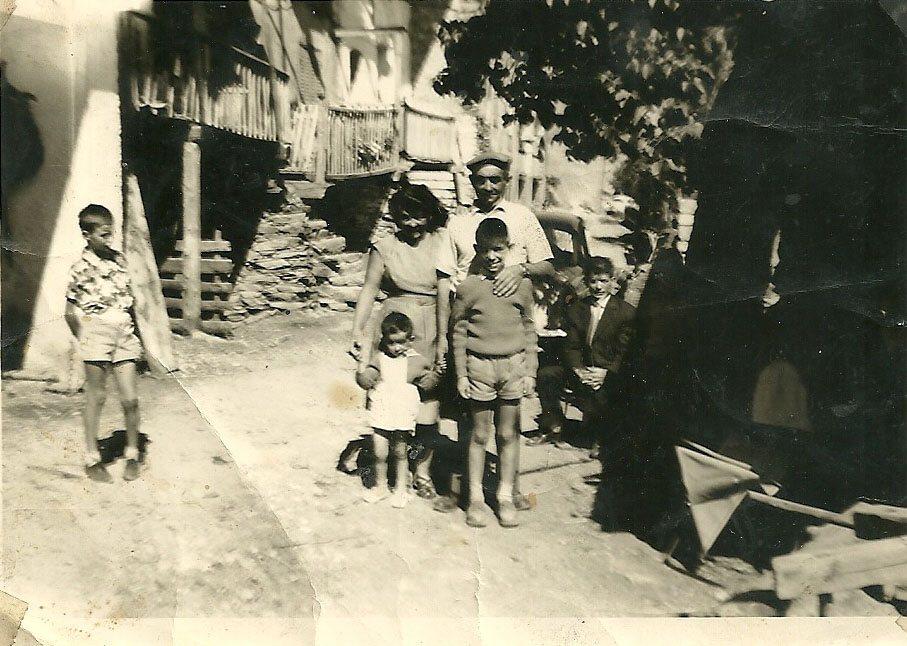 10 août 1960 La famille Cannat aux Casses