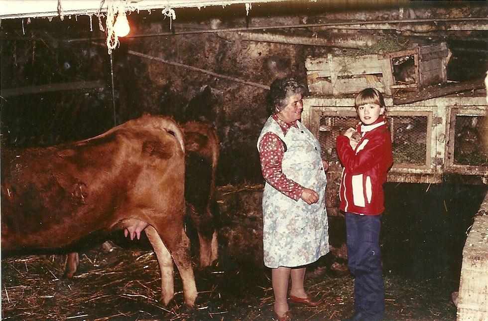 Aux Mensolles 9 février 1981. Marie Jeanne