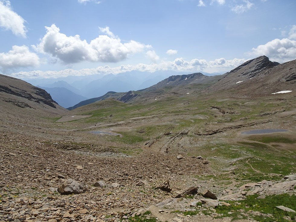 Le plateau des lacs Étoilés moribonds dés le début de l'été.