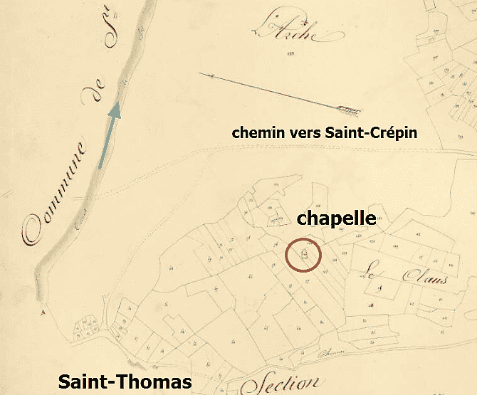 la chapelle de Saint-Thomas