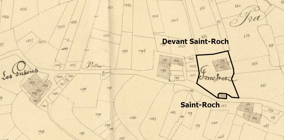le quartier de Saint-Roch
