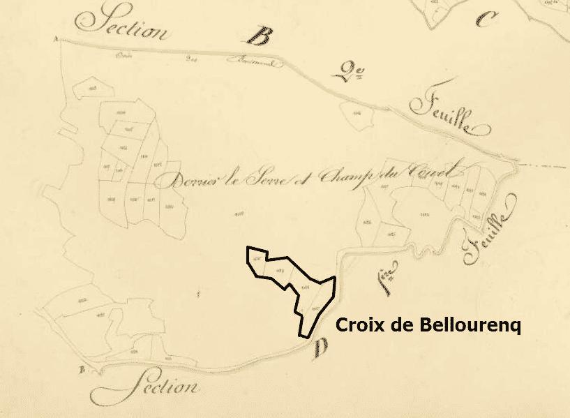 la croix de Bellourenq