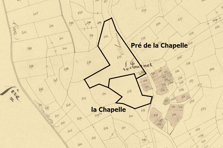 le pré de la Chapelle