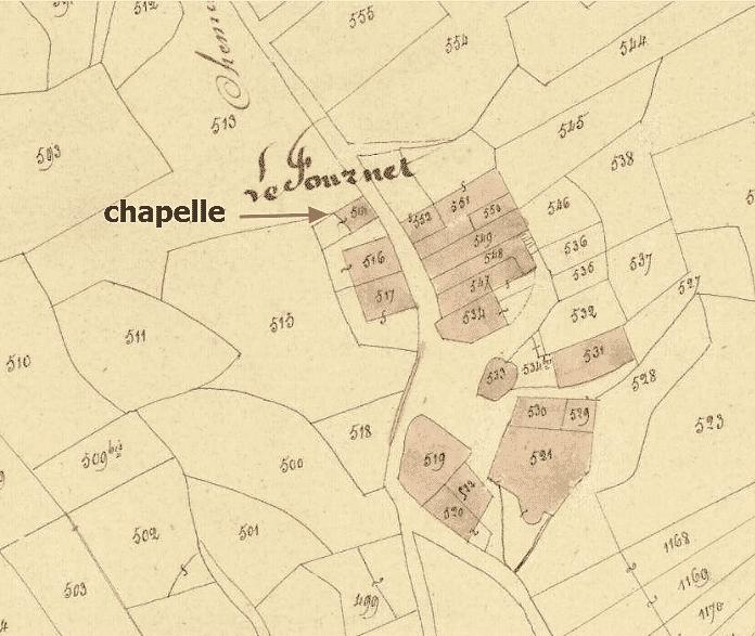 la chapelle du Fournet