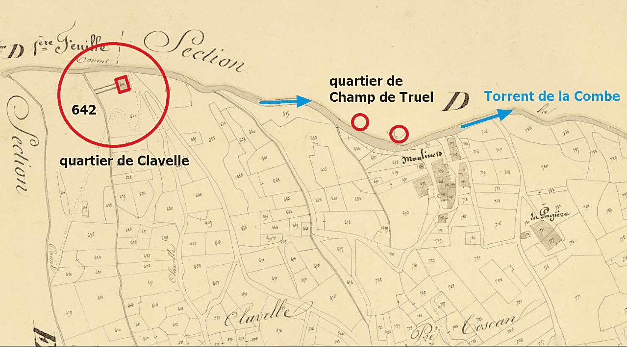 le moulin de Clavelle
