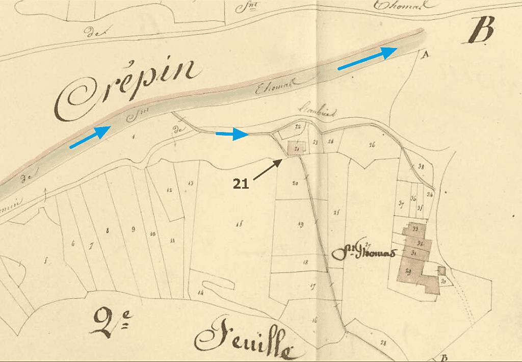 le moulin de Saint-Thomas
