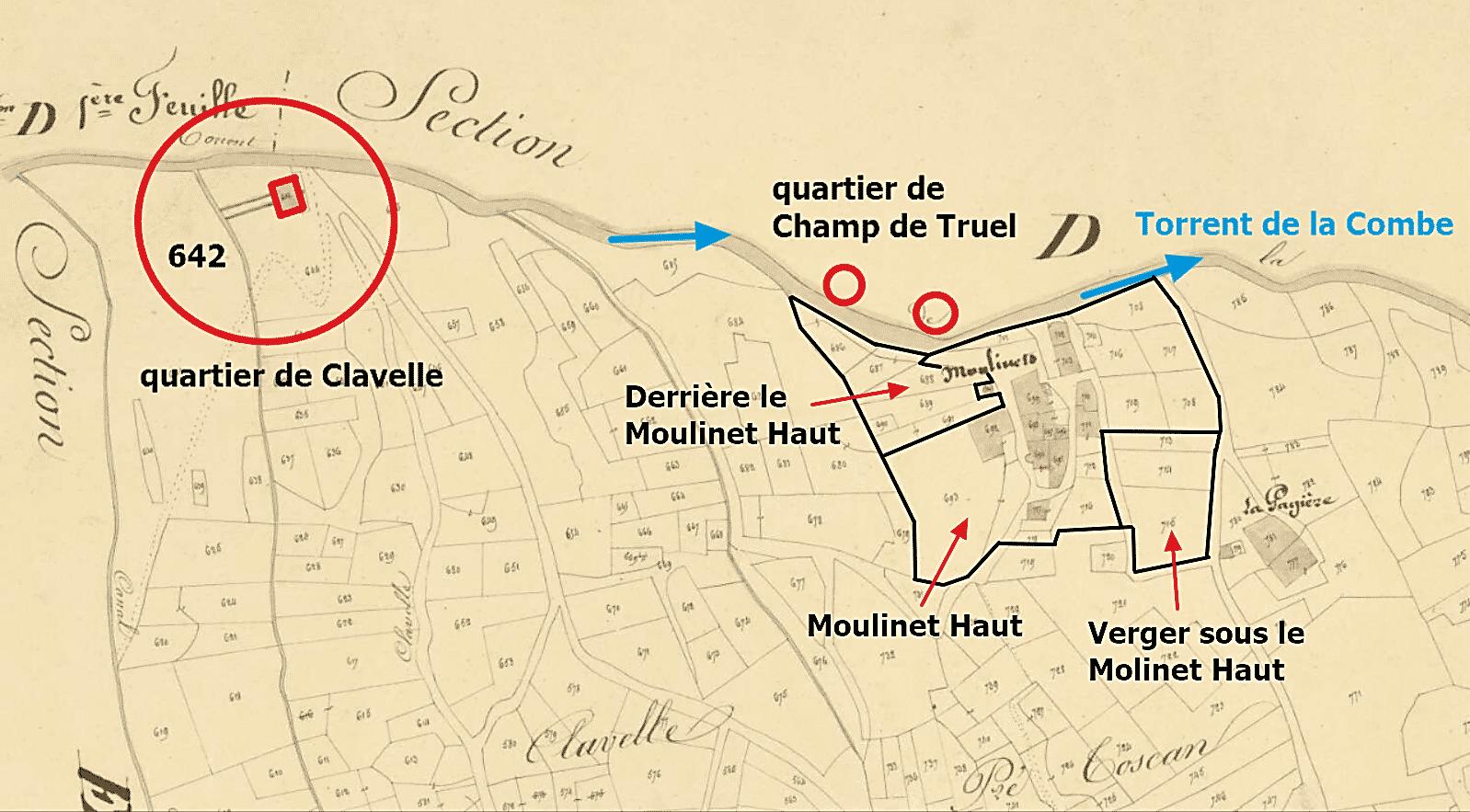 le quartier des Moulinets Hauts