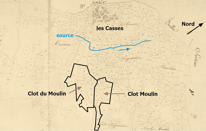 un moulin aux Casses ?