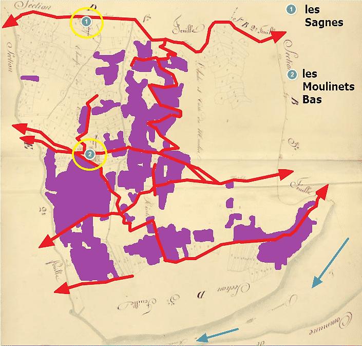 le vignoble des Moulinets Bas