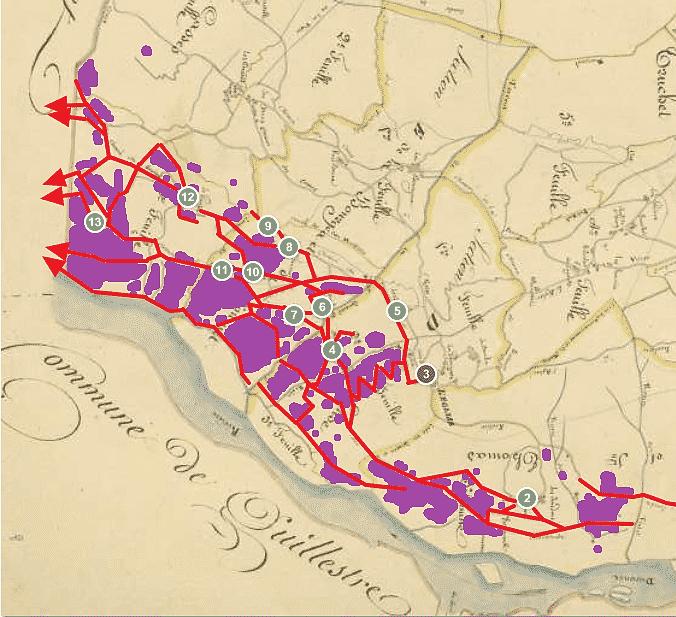 une vision complète de la commune viticole de Réotier